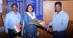 DR. BC SATHEESHA TAKES CHARGE AS NEW CEO OF DHARWAD ZP