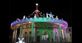 CHURCHES IN HUBBALLI-DHARWAD DECKED UP FOR CHRISTMAS