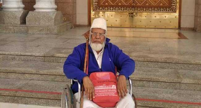 Photo of UMRAH PILGRIM FROM HUBBALLI PASSES AWAY IN MADINA