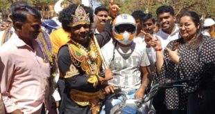 'YAMARAJ' SPOTTED IN HUBBALLI TODAY