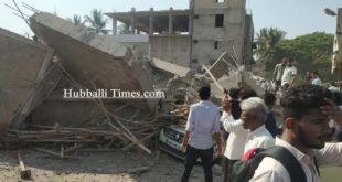 UNDER CONSTRUCTION BUILDING COLLAPSES IN DHARWAD: MANY LABORS ARE SUSPECTED BE TRAPPED UNDER DEBRIS