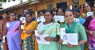 51.48 PERCENT VOTING RECORDED IN DHARWAD