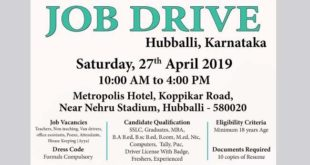 JOB DRIVE FOR SCHOOL PROFESSIONALS TOMORROW