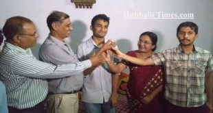 HUBBALLI BOY SECURES 17 RANK IN UPSC