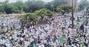 EID CELEBRATED WITH RELIGIOUS FERVOUR IN HUBBALLI