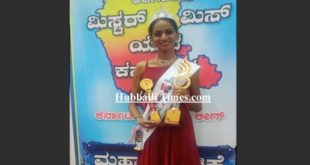 HUBBALLI GIRL SHINES AT DASARA FASHION SHOW IN MYSURU