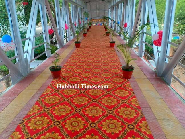 Photo of HUBBALLI RLY STATION'S SECOND ENTRANCE, BY-PASS RAIL TRACK INAUGURATED