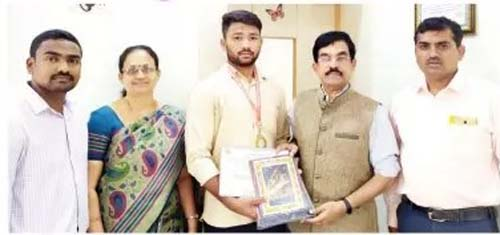 Photo of DHARWAD STUDENT SELECTED FOR NATIONAL-LEVEL KUSHTI COMPETITION