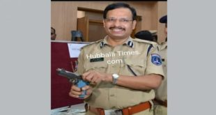 HUBBALLI CONGRATS TOP COP SAJJANAR ON 'ENCOUNTER'