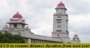 KUD TO RESUME DISTANCE EDUCATION