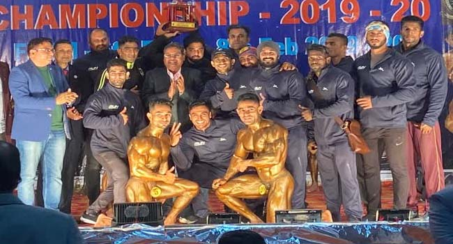 Photo of SWR BAGS THIRD PLACE IN ALL INDIA NATIONAL BODYBUILDING COMPETITION