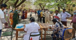 HDMC CONDUCTS HEALTH CHECKUP FOR GROCERY VENDORS
