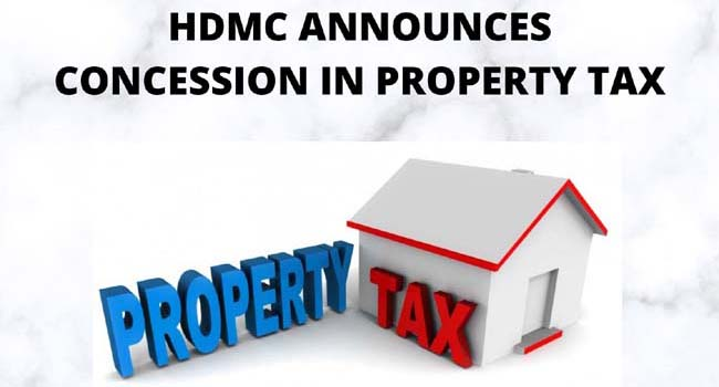 Photo of HDMC ANNOUNCES CONCESSION IN PROPERTY TAX