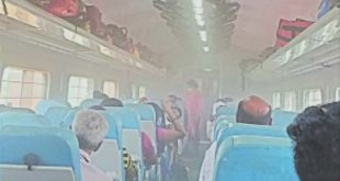 Passengers in superfast train get dust cover